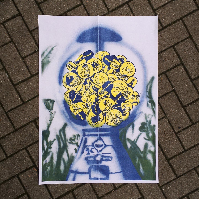 GUMMIKOSMOS (A1 Poster)