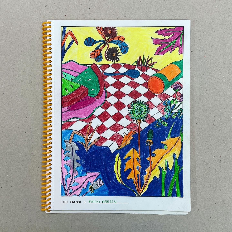 Ein Ausmalbuch  [A coloring book]